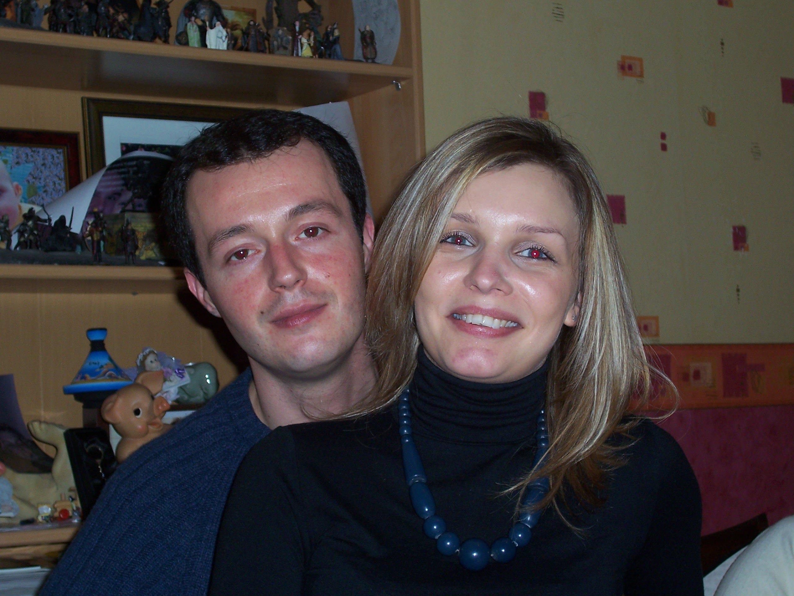 Ivan et Julie (ma soeur)