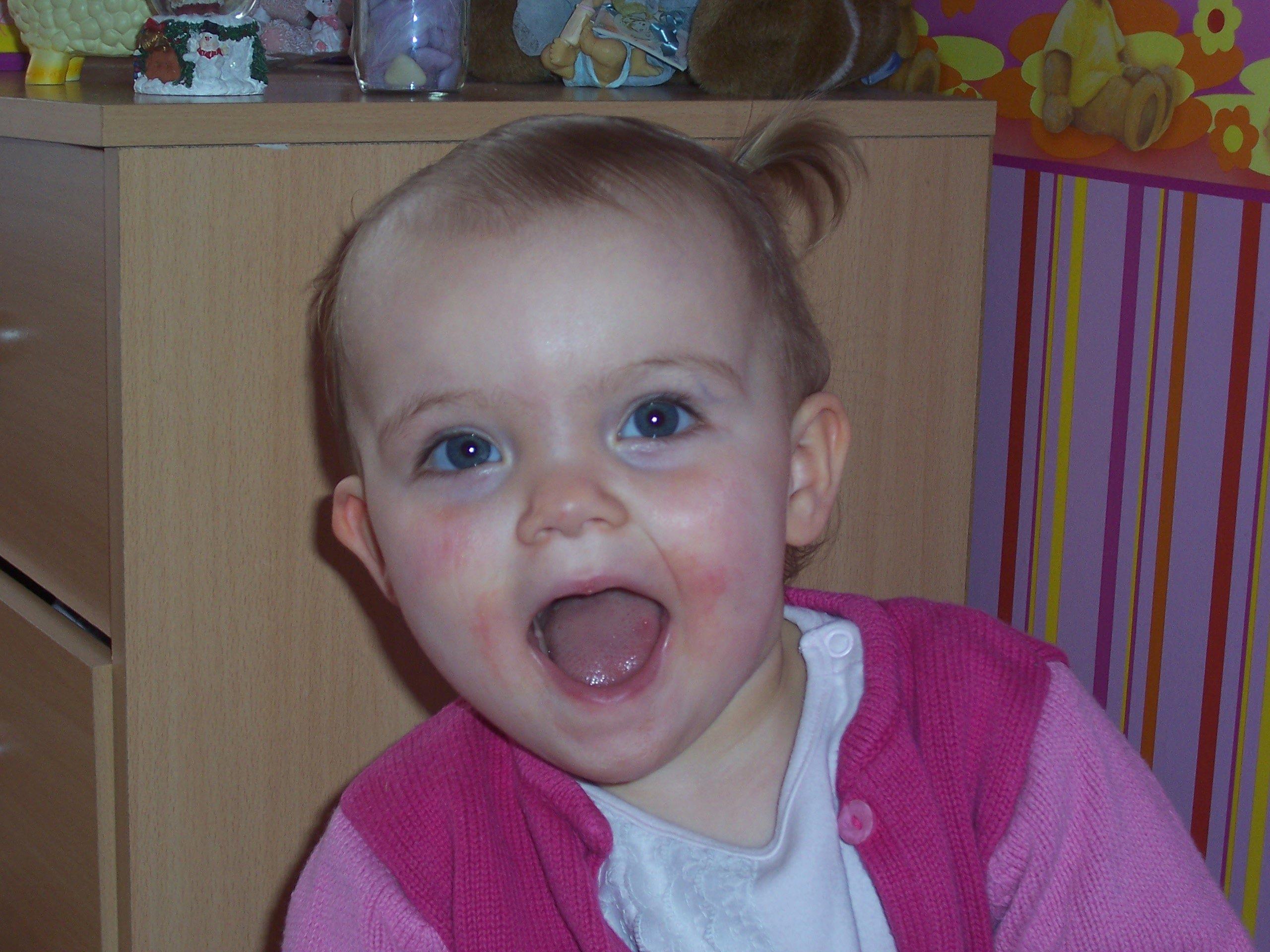 Ma fille Jeanne - 21 mois le 07 Mars